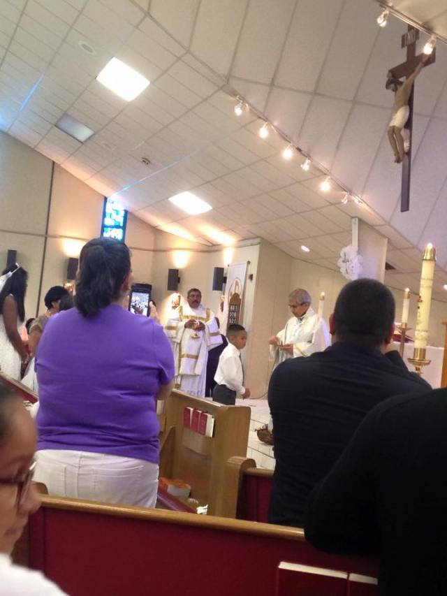 1st communion 2015-10