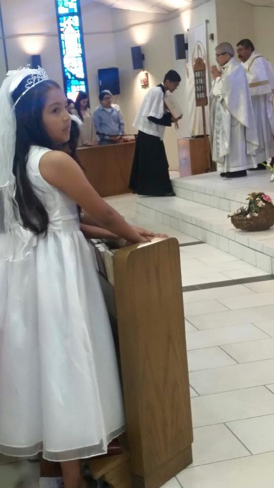 1st communion 2015-15