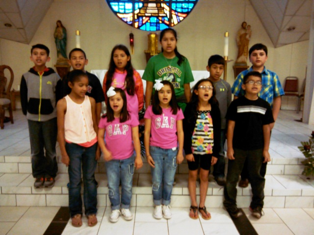 1st communion kids2